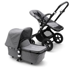Bugaboo Cameleon3 Plus BLACK / GREY MELANGE - GREY MELANGE Complete Stroller