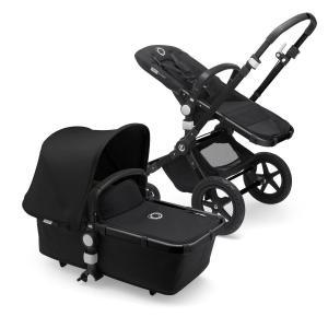 Bugaboo Cameleon3 Plus BLACK / BLACK - BLACK Complete Stroller