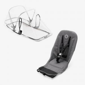 Bugaboo Donkey2 Duo Fabric Set Grey Melange