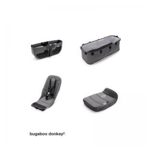 Bugaboo Donkey2 Bastyger Grey Melange (4 delar)