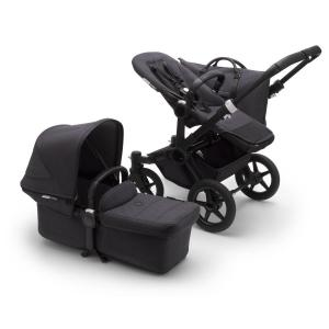 Bugaboo Donkey3 Mono Mineral BLACK / WASHED BLACK Complete Stroller