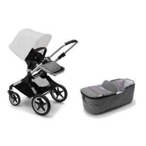 Bugaboo Fox2 ALU Base / GREY MELANGE Style Set Stroller