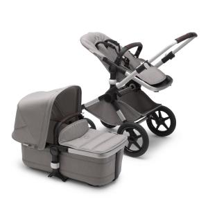 Bugaboo Fox2 Mineral ALU / LIGHT GREY Komplett Barnvagn