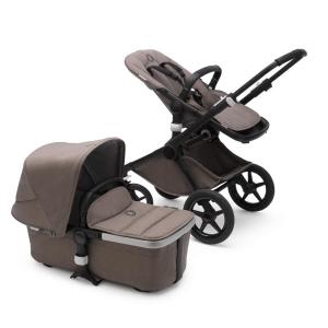 Bugaboo Fox2 Mineral BLACK / TAUPE Complete Stroller