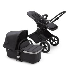 Bugaboo Fox2 Mineral BLACK / WASHED BLACK Komplett Barnvagn