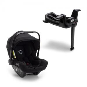 Bugaboo Turtle Air by Nuna Car Seat Black + Isofixbase Wings Black