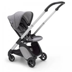 Bugaboo Ant Aluminium Chassis Grey Melange-Grey Melange Style Set Complete Pushchair