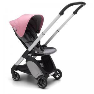 Bugaboo Ant Aluminium Chassi Grey Melange-Pink Melange  Style Set Komplett Sittvagn