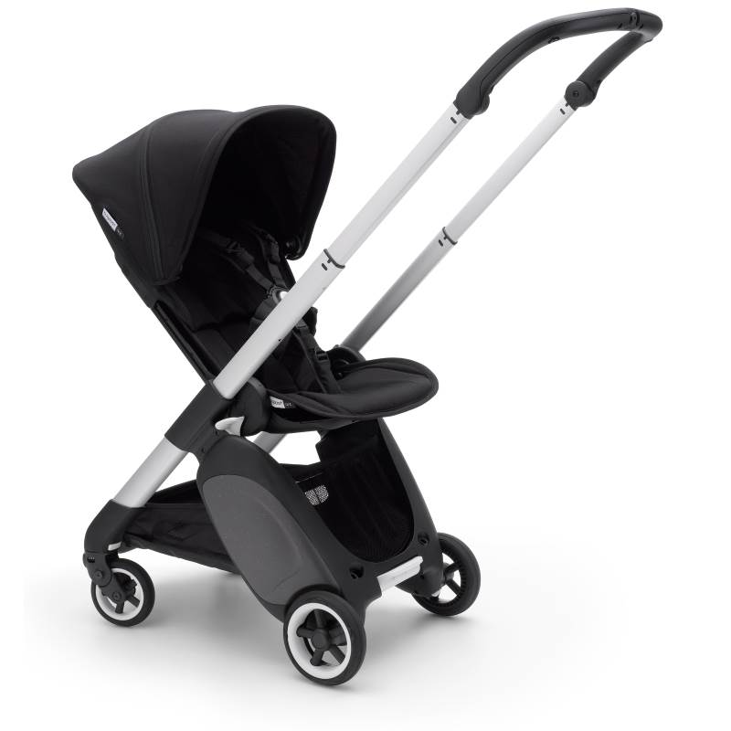 Bugaboo Ant Aluminium Chassis Black-Black Style Set Complete Pushchair