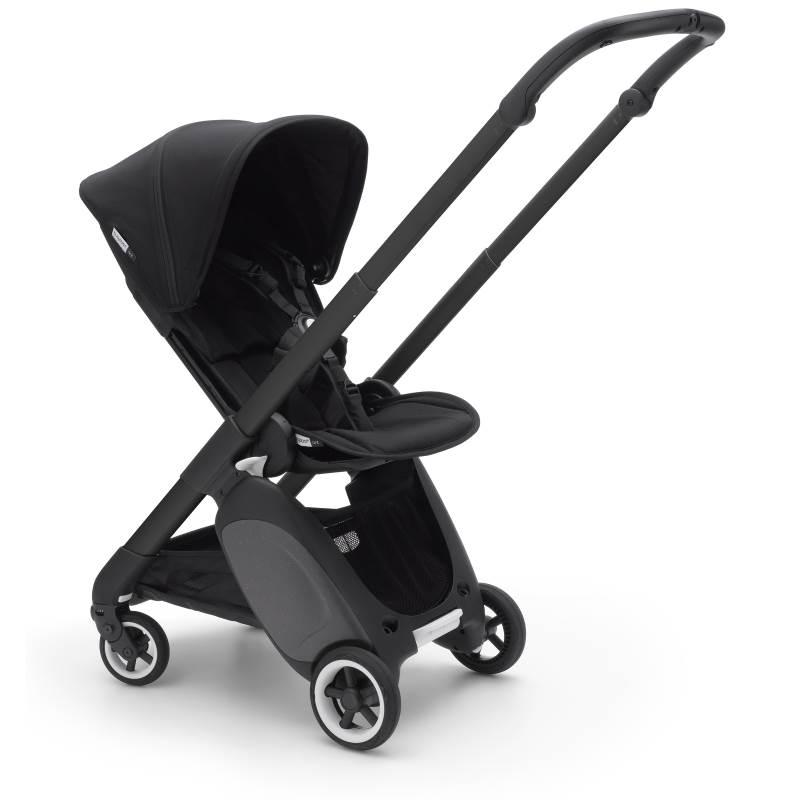 Bugaboo Ant Black Chassis Black-Black Style Set Complete Pushchair