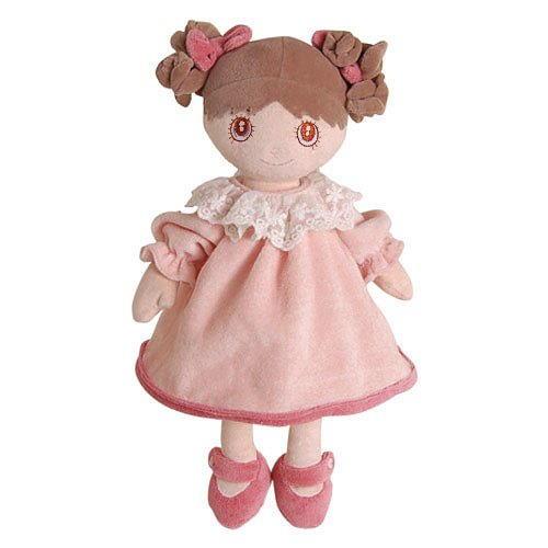 Bukowski Soft Doll Ninka Brown Hair & Light Pink Dress