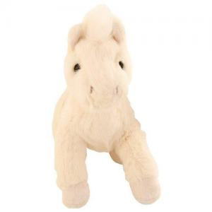 Bukowski Stuffed Animal Horse Baby Sugar White
