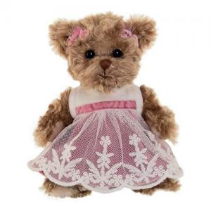 Bukowski Little Amelia 15 cm Teddy Bear Pink Dress