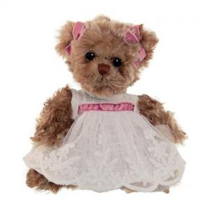 Bukowski Little Amelia 15 cm Teddy Bear White Dress