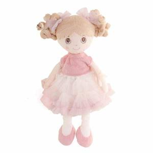 Bukowski Rag Doll Petronella 25 cm - Light Hair & Light Pink Dress