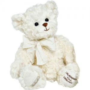 Bukowski Welcome To The World Teddy Bear 40cm White Bear Brown Nose
