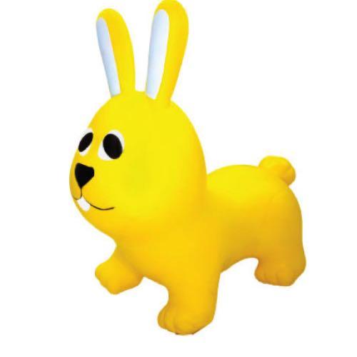 Bunnyhopper Hoppdjur Gul