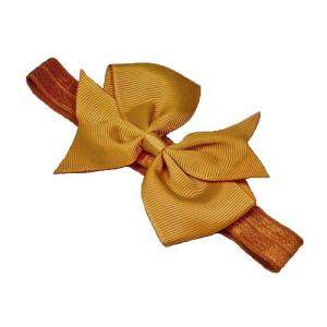 Busy Lizzie Hair Band Mustard Yellow