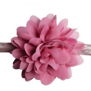 Busy Lizzie Hårband Blomma Rosa