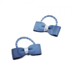 Busy Lizzie Hair Nod With Bow Blue