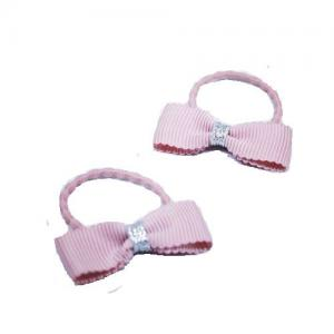 Busy Lizzie Hair Nod With Bow Light Pink