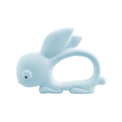 Carlo Baby Teething Toy / Bath Toy Bunny Blue