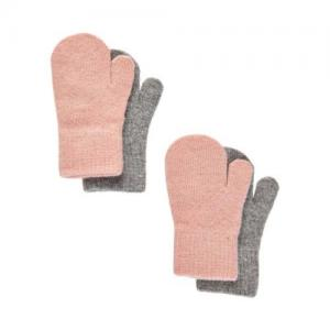 CeLaVi Magiska Tumvantar 2-pack Misty Rose & Light Grey 1-2 år