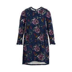 Creamie Dress Stretch Fabric Blue