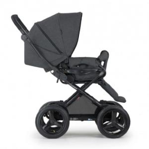 Crescent Comfort Stroller Black Melange