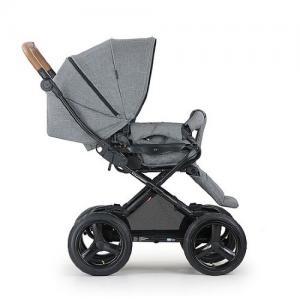 Crescent Comfort Stroller Grey Melange