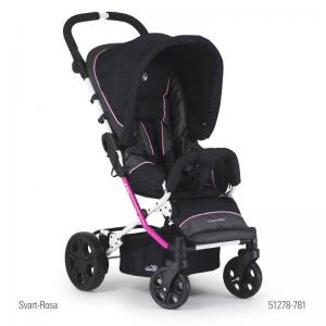 Crescent Compact 360 Black-Pink Sittvagn