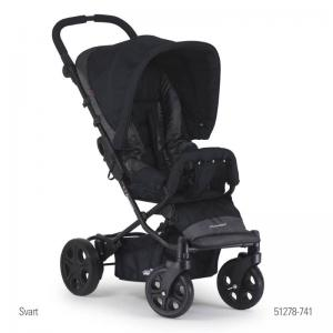 Crescent Compact 360 Black Pushchair