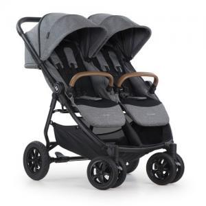 Crescent Duo Air Sibling Stroller Grey Melange