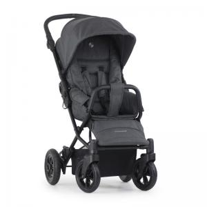 Crescent Nordic XT Black Melange Pushchair
