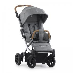 Crescent Nordic XT Grey Melange Pushchair