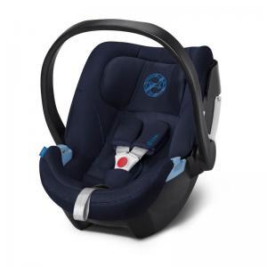 Cybex Aton 5 Infant Car Seat Indigo Blue (2019 fabrics)