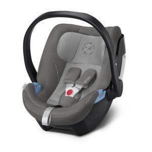 Cybex Aton 5 Infant Car Seat Manhattan Grey (2019 fabrics)