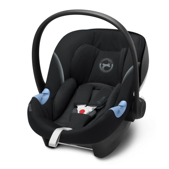 Cybex Aton M i-Size Infant Car Seat Deep Black