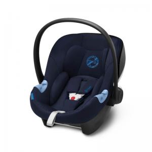 Cybex Aton M i-Size Infant Car Seat Indigo Blue (2019 fabrics)