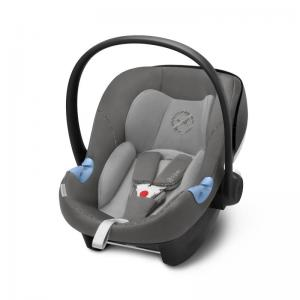 Cybex Aton M i-Size Infant Car Seat Manhattan Grey (2019 fabrics)