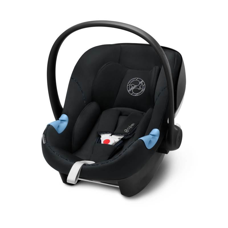 Cybex Aton M i-Size Infant Car Seat Urban Black (2019 fabrics)
