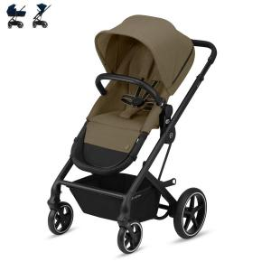 Cybex Balios S 2-in-1 Black Chassis Classic Beige