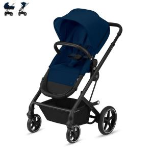 Cybex Balios S 2-in-1 Black Chassis Navy Blue
