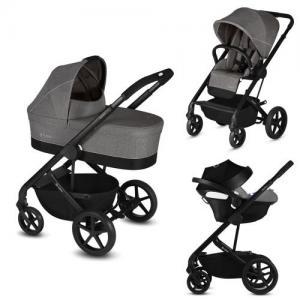 Cybex Balios S Duo stroller + Baby Car Seat Aton 5 - Manhattan Grey