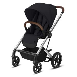 Cybex Balios S LUX Silver Chassi Deep Black