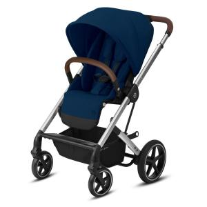 Cybex Balios S LUX Silver Chassi Navy Blue