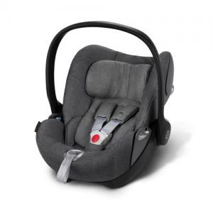 Cybex Cloud Q plus babyskydd Manhattan Grey