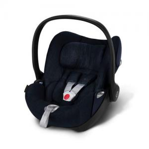 Cybex Cloud Q plus babyskydd Midnight Blue