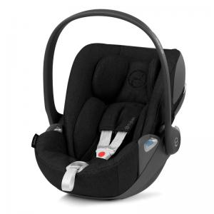 Cybex Cloud Z I-Size Infant Car Seat Deep Black PLUS -fabric