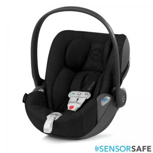 Cybex Cloud Z I-Size Infant Car Seat incl. SensorSafe Deep Black PLUS -fabric